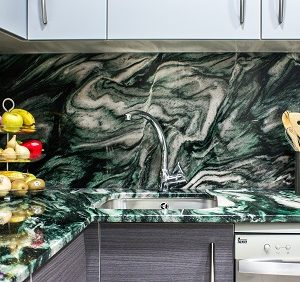 Blat de bucătărie granit preț mic Laponia Green