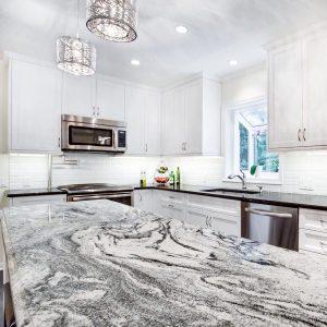 Blat bucătărie granit alb Viscont White