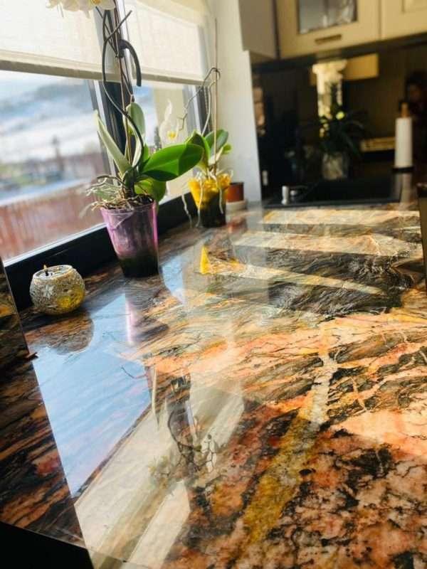 Blat granit bucătărie la comandă Fusion Wow