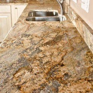 Granit blat de bucătărie și baie Golden Persa