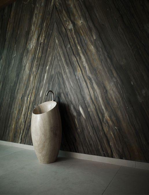 Placaj granit pereți bucătărie Quartzite Sequoia Brown.