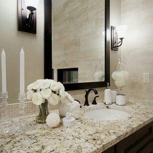Blat de baie și bucătărie granit White Torroncino