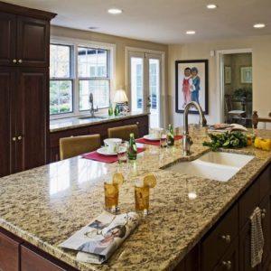Granit Blaturi Bucătărie Santa Cecilia