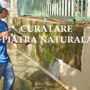 curatare piatra naturala gard Rocas