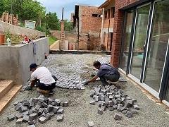 montaj piatra cubica Rocas