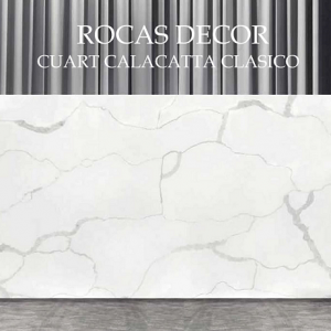 Compozit quartz Calacatta Clasico